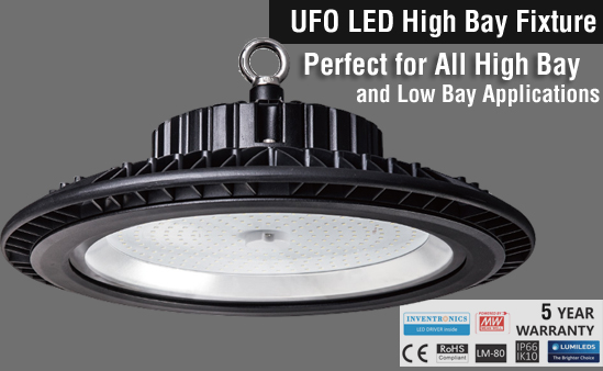 UFO LED High Bay Light,60Watt,100Watt,150 Watt,120-277 Volts