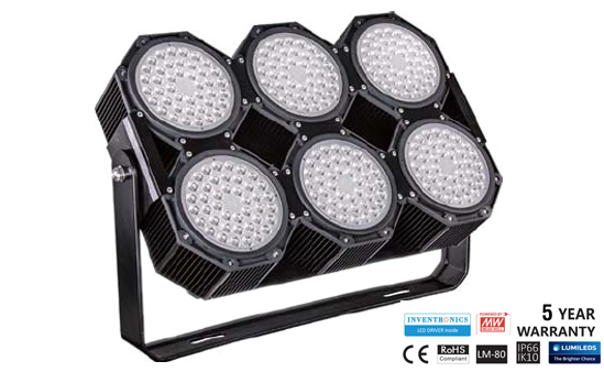 LED Floodlights for Large area and Sports Floodlighting