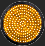 300mm 12Inch Yellow LED Full Ball Round Signal