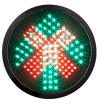 LED-Vehicle-Signal-Module-Red-Cross-Green-Arrow